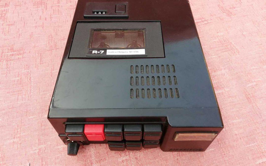 1977 Mechlabor Kazettás Riporter Magnetofon ML Riporter-7a