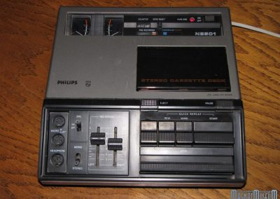 1977 Philips Stereo Cassette Deck N2501 - Philips-N2501.4.jpg