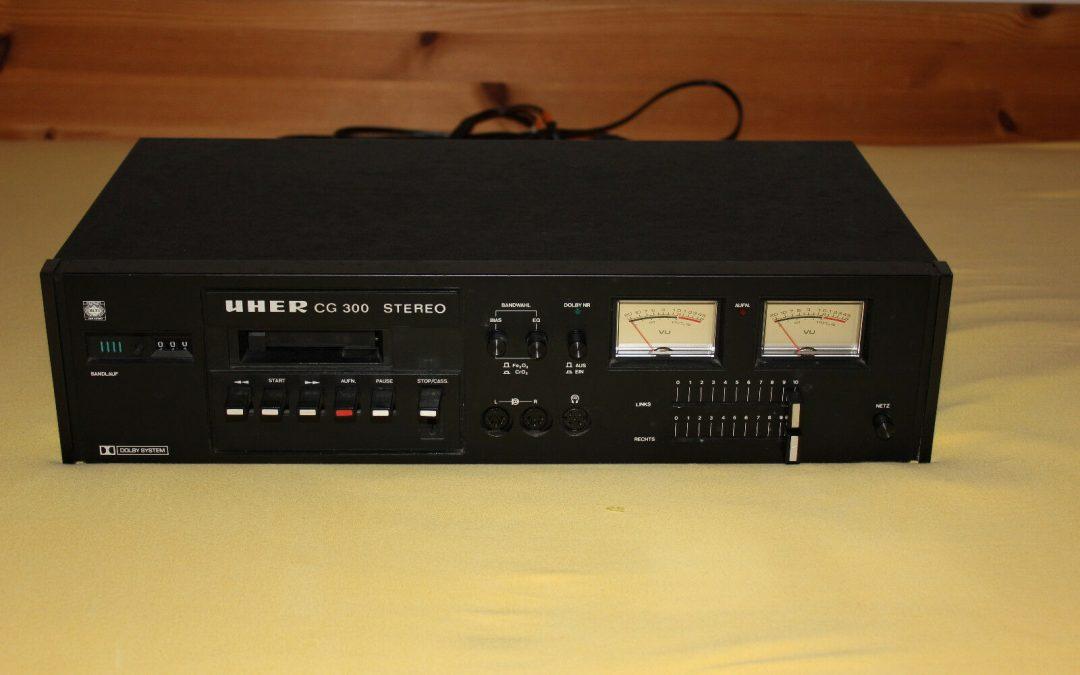 1977 Uher Stereo Cassette Deck CG 300