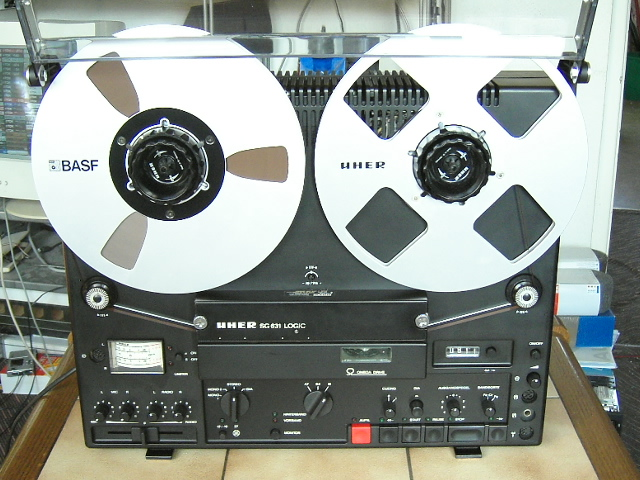 1977 Uher Stereo Tape Deck SG 631 Logic
