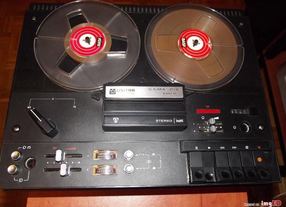 1977 Unitra Stereo Tape Deck Dama Pik M 2403 SD