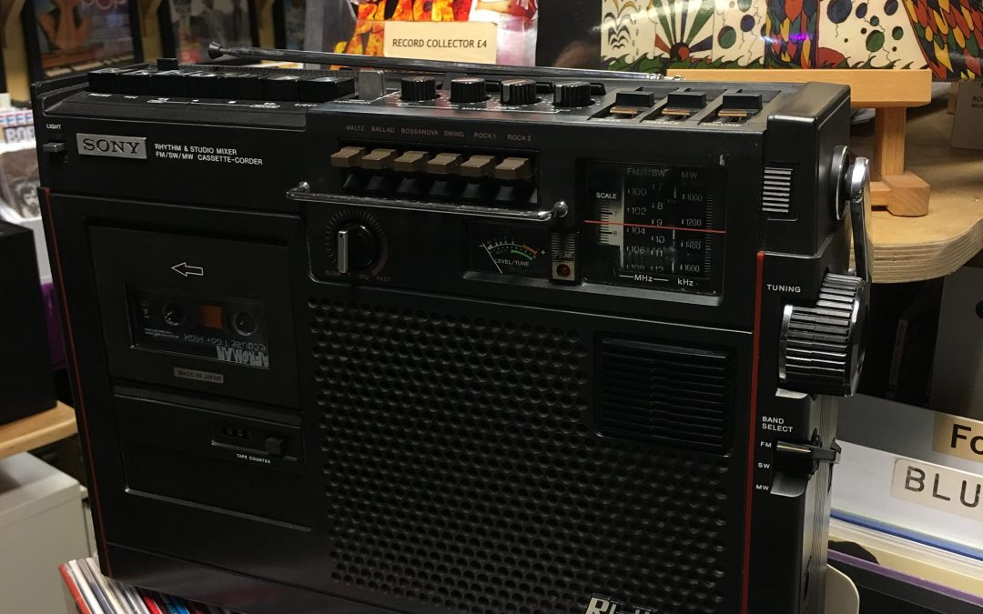 1978 Sony Rhythm & Studio Mixer FM/SW/MW Cassette-Corder Capsule 900S