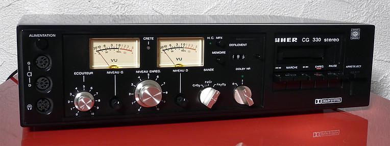 1978 Uher Stereo Cassette Deck CG 330