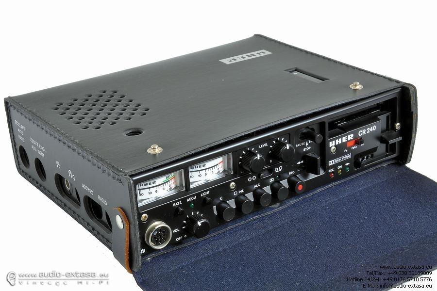 1976 Uher Stereo Cassette Recorder CR 240