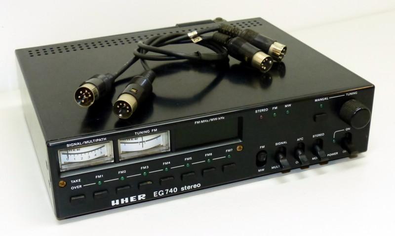 1978 Uher Stereo Tuner EG 740