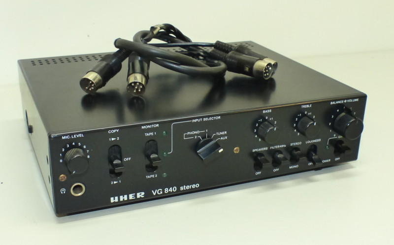 1978 Uher Stereo Vorverstaker VG 840