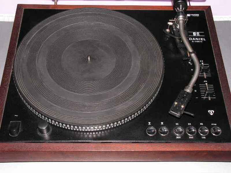 1978 Unitra Fonica Stereo HiFi Gramofon Daniel G-1100 FS