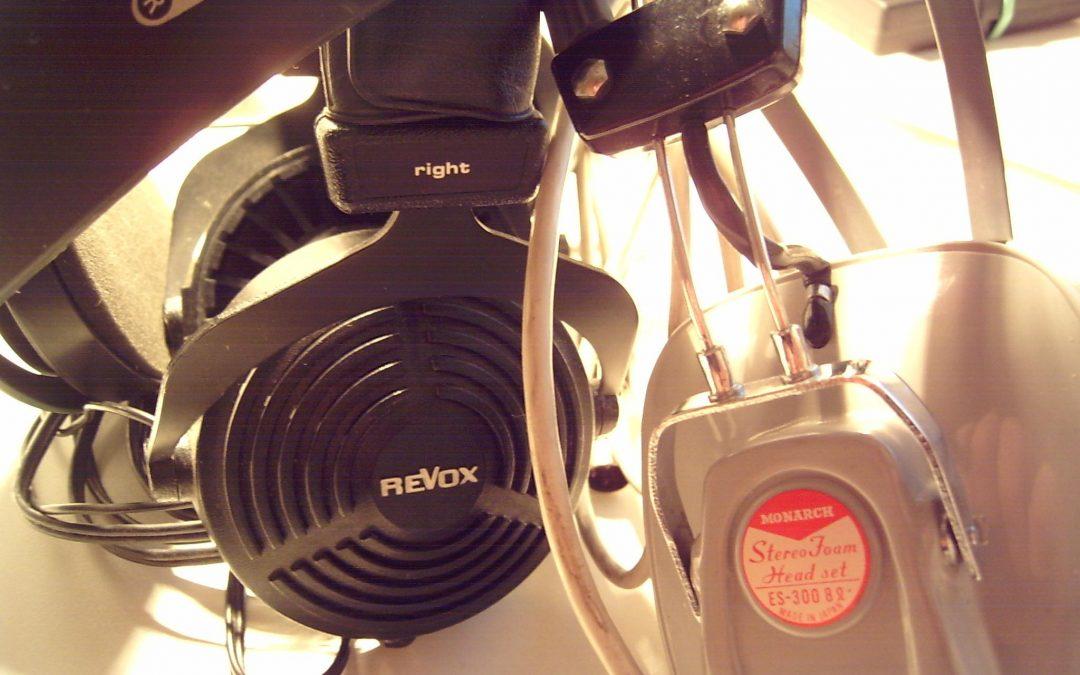 1979 ReVox Stereo Kopfhörer RH310