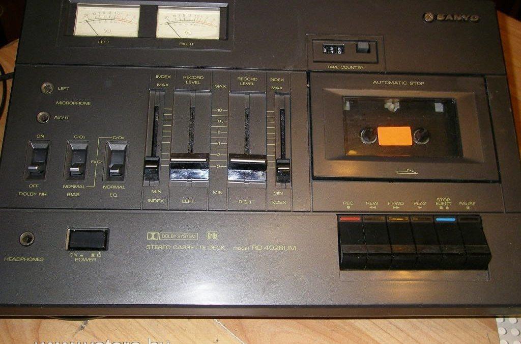 1979 Sanyo Stereo Cassette Deck RD-4028 UM