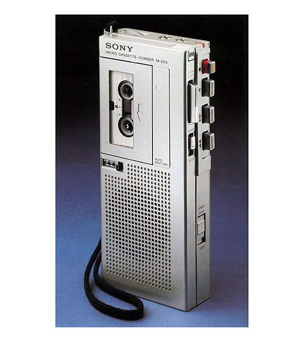 1979 Sony Micro Cassette-Corder M-203