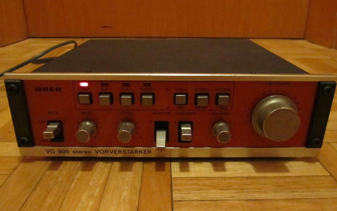 1979 Uher Vorverstarker VG 805