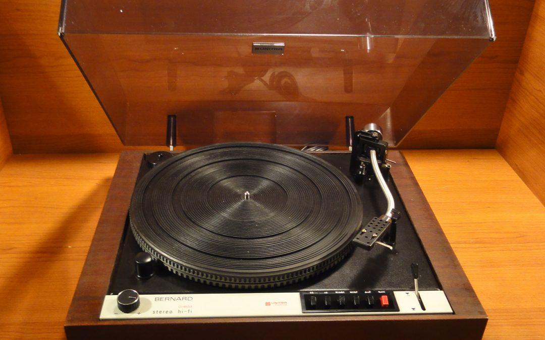 1979 Unitra Fonica Stereo HiFi Gramofon Bernard G-603fs