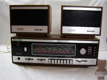 1979 Videoton Stereo Receiver Disco Baby RA 4312A S