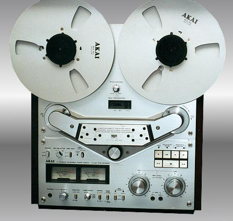 1980 Akai Stereo Tape Deck Auto-Reverse GX 635D