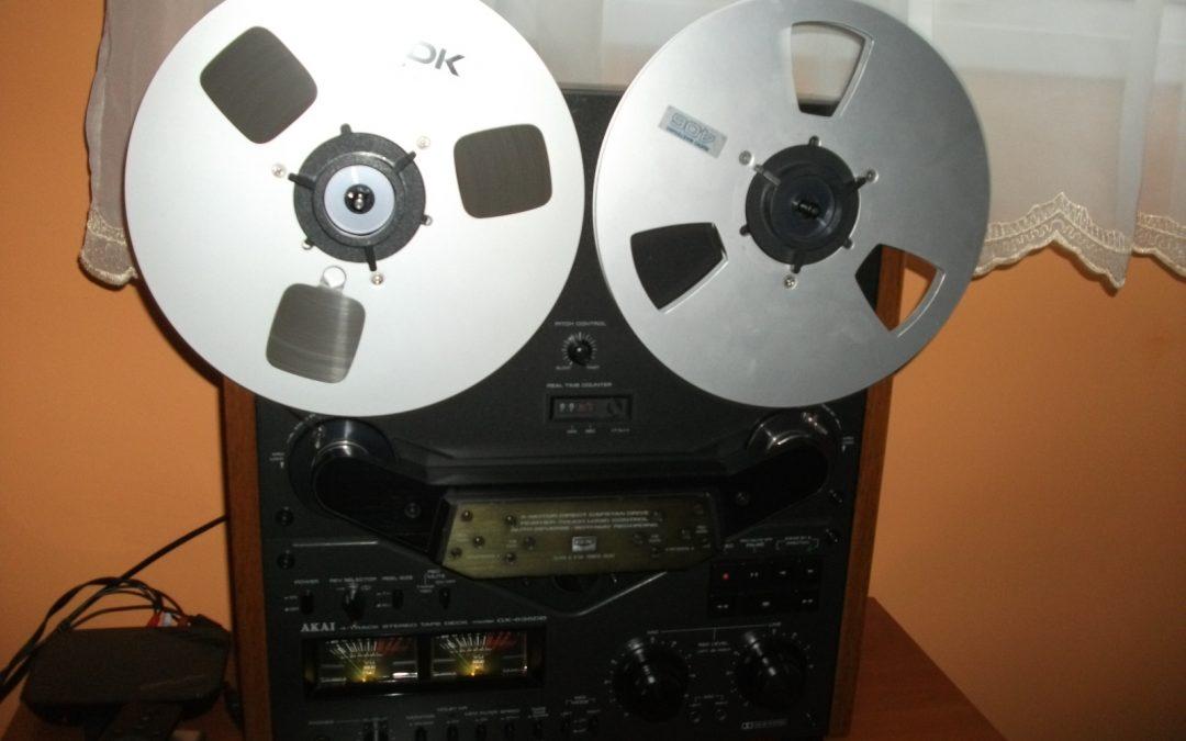 1980 Akai Stereo Tape Deck Auto-Reverse GX 635DB