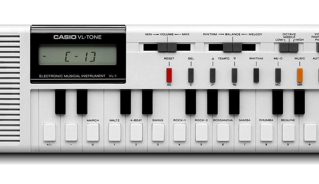 1980 Casio VL-Tone VL-1
