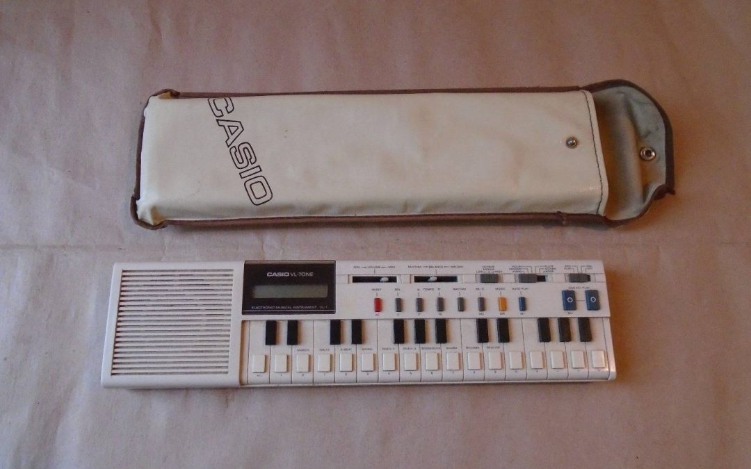 1980 Casio ElectronIc Instrument and Calculator VL-Tone VL-1