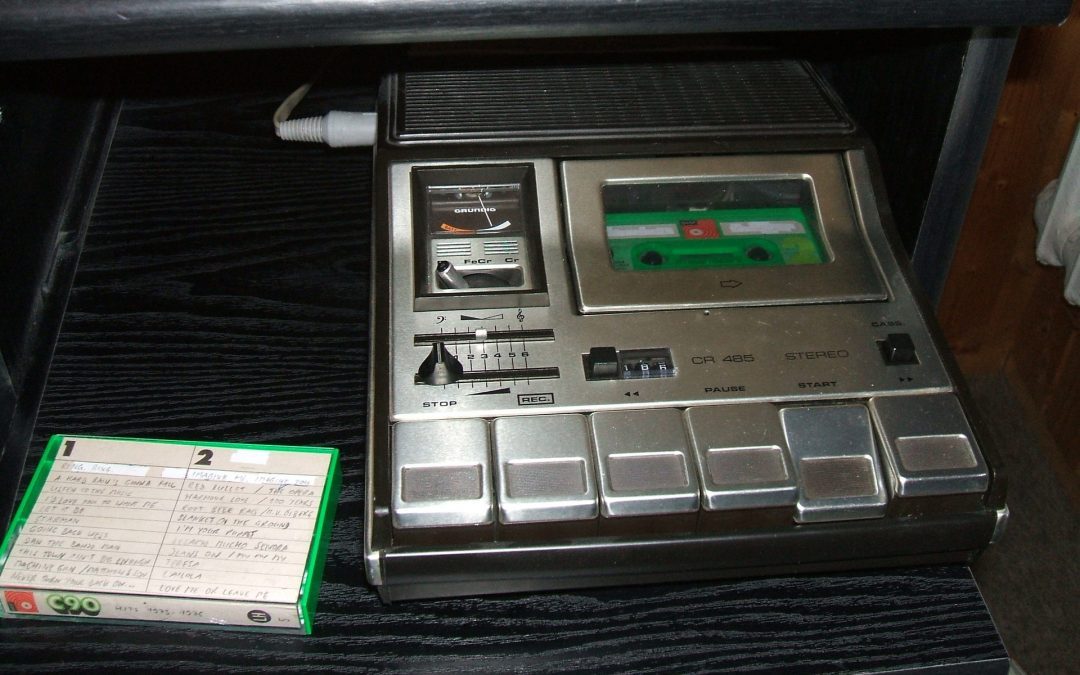 1980 Grundig Stereo Cassette Recorder CR 485