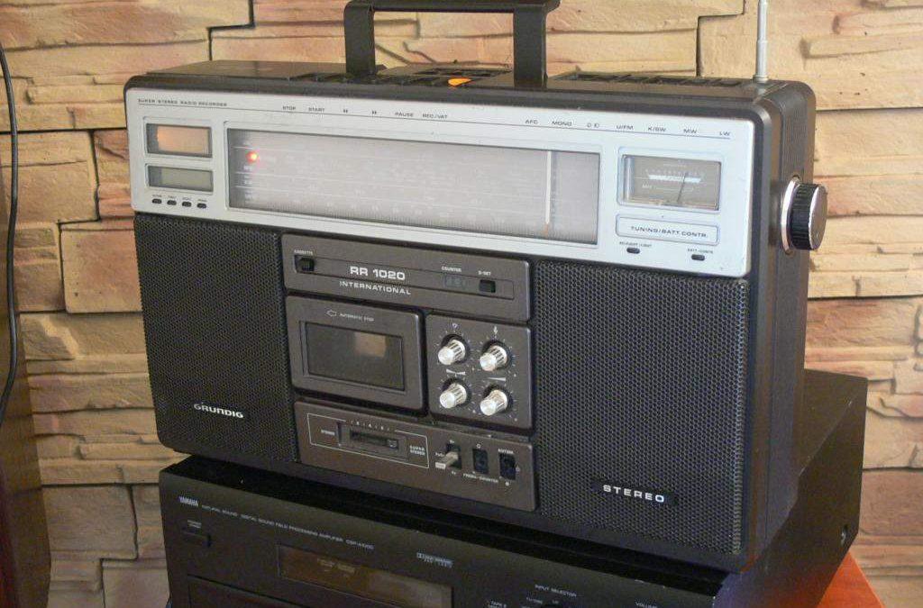 1980 Grundig Super Stereo Radio Recorder RR 1020