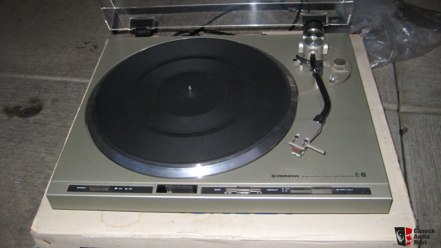 1980 Pioneer Quartz-PLL Full Automatic PL-400