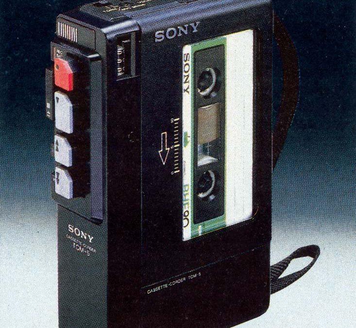 1980 Sony Cassette-Corder TCM-5