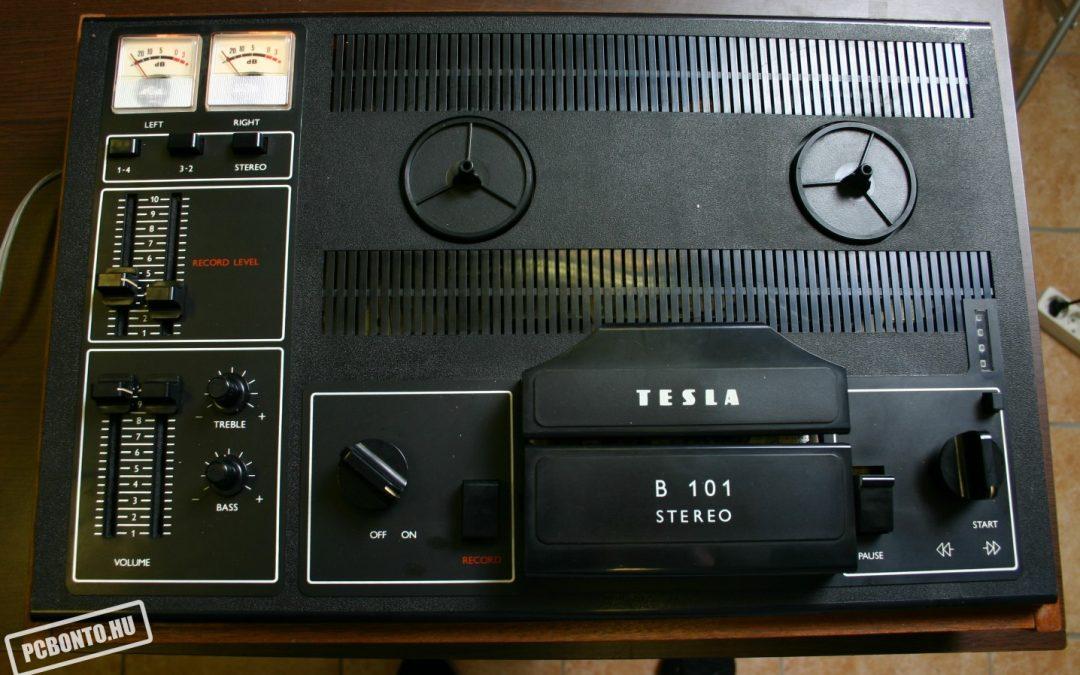 1980 Tesla Stereo Tape Recorder B 101 ANP 272