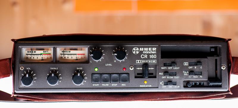 1980 Uher Stereo Cassette Recorder CR 160