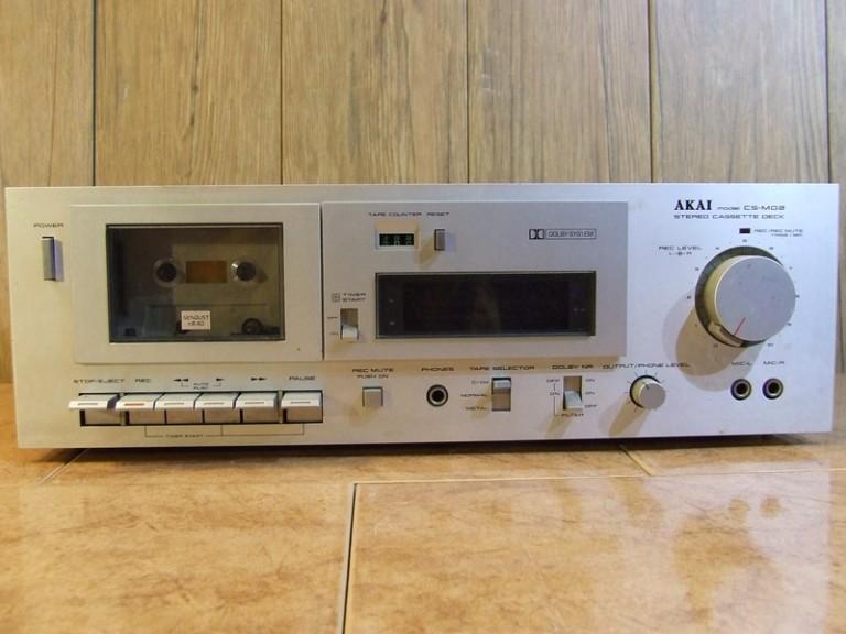 1981 Akai Stereo Cassette Deck CS-M02