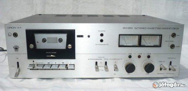 1981 Orion Sztereó Kazettás Magnó Deck SM 250