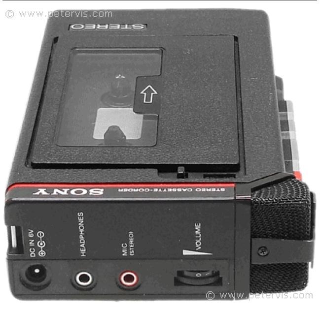 1981 Sony Stereo Cassette-Corder TCS-310