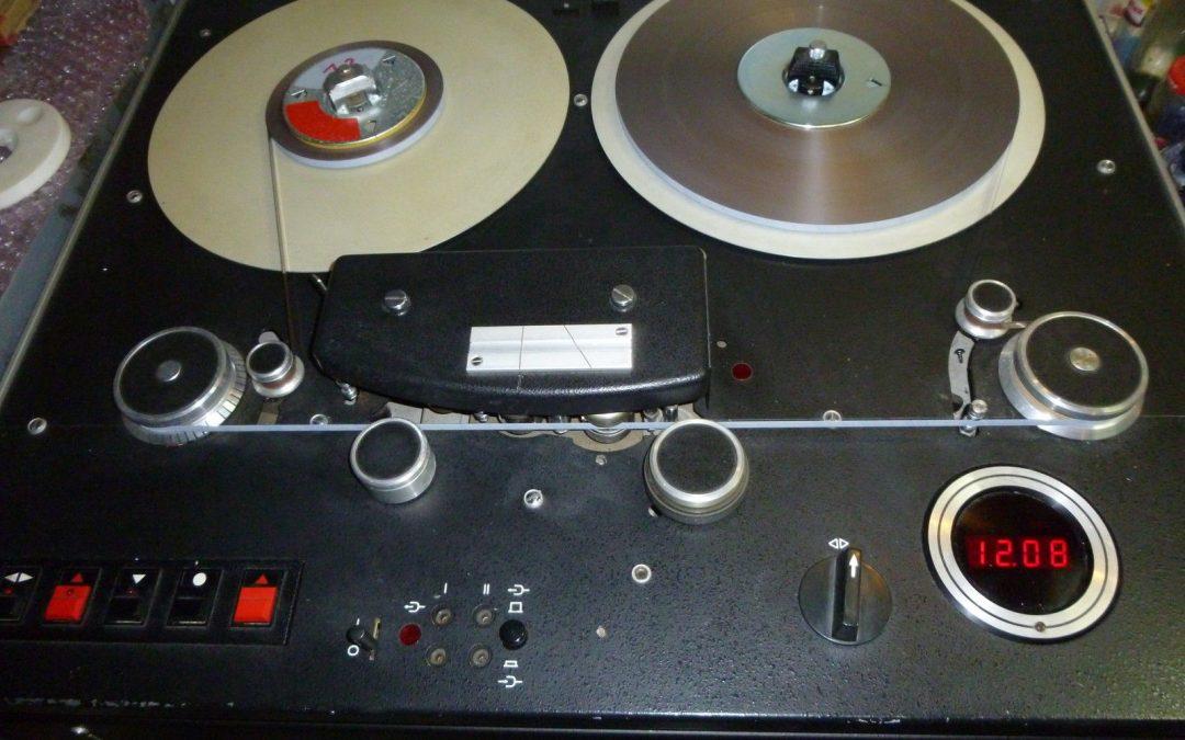 1982 Mechlabor Stereo Stúdiómagnó STM 610