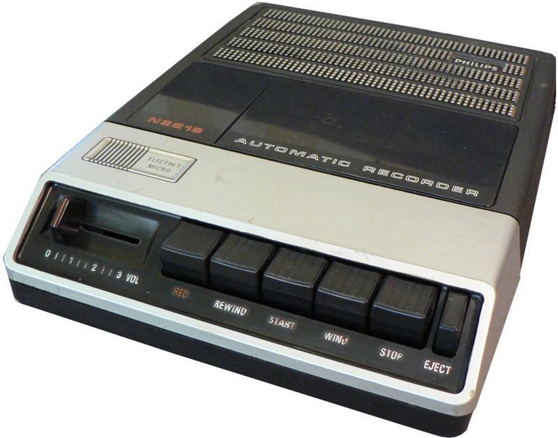 1982 Philips Automatic Recorder N2218