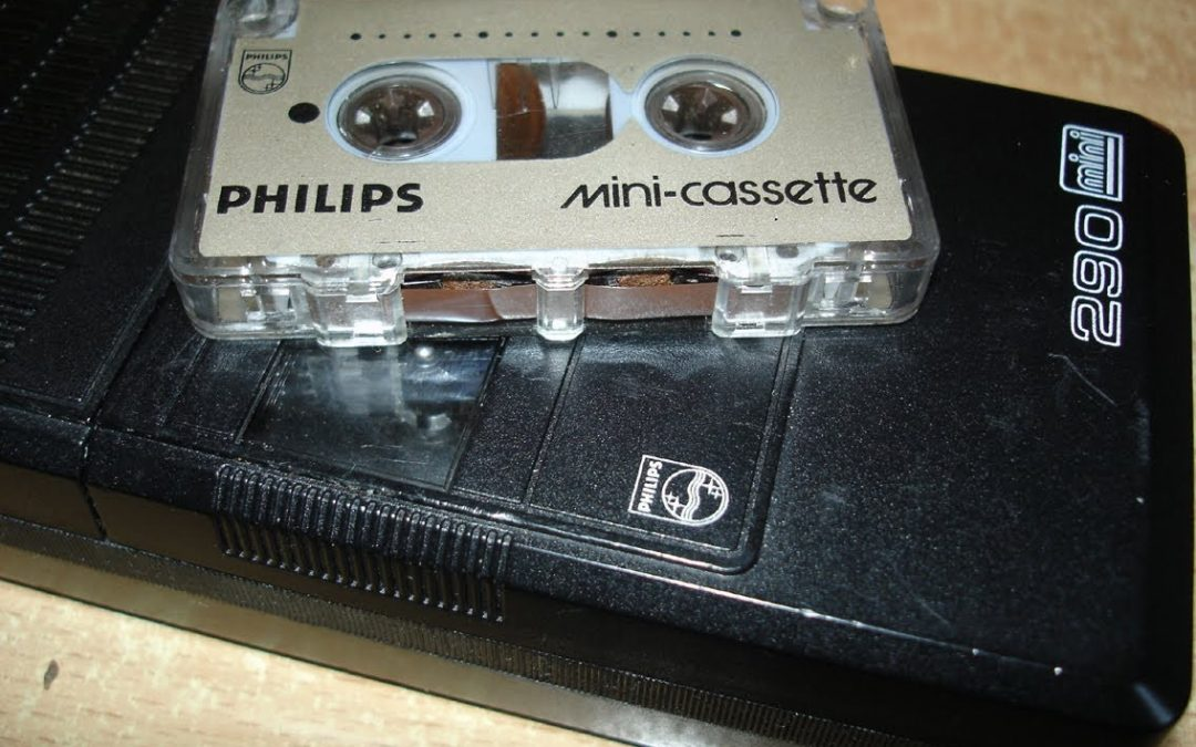 1982 Philips Pocket Memo Mini 290