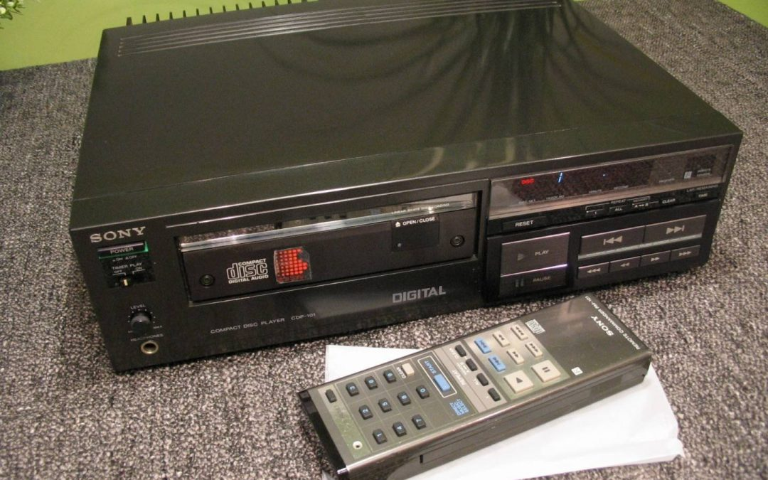 1982 Sony Compact Disc Player CDP-101