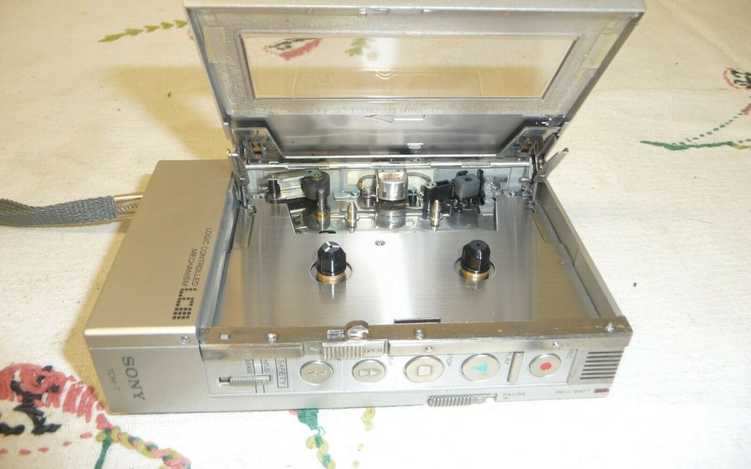 1982 Sony Logic Controlled Mechanism TCM-7