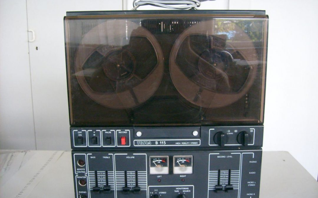 1982 Tesla High Fidelity Stereo Tape Recorder B 115-ANP 268