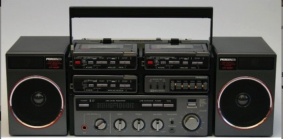 1983 Hitachi Radio Cassette Tape Recorder CP-900SW