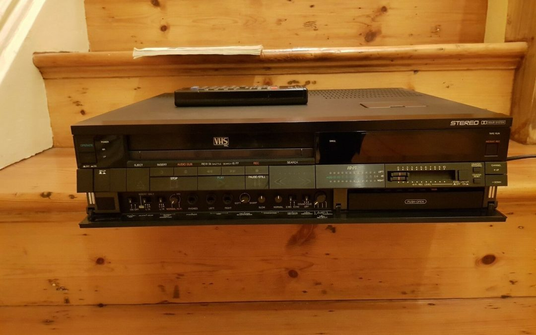 1983 JVC Hi-Fi Stereo Video Cassette Recorder HR-D725
