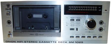 1983 Orion Hifi Stereo Cassette Deck SM 1025