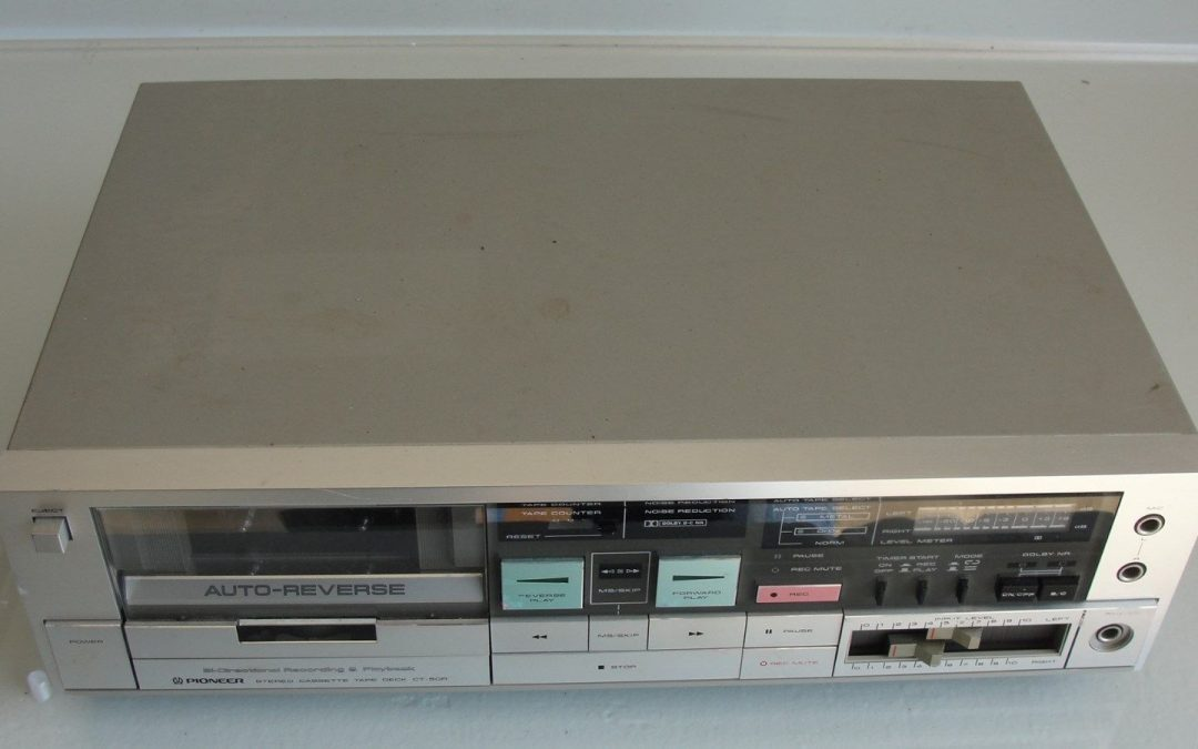 1983 Pioneer Stereo Cassette Tape Deck CT-50R