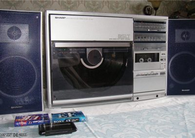 1983 Sharp Both Side Play Disc Stereo System VZ3500 - VZ3500.jpg