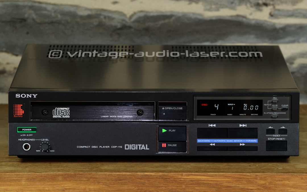 1983 Sony Compact Disc Player CDP-11S