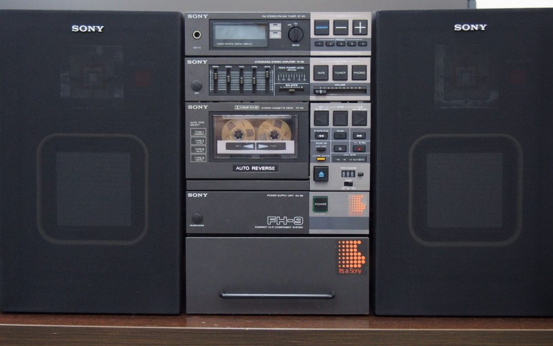 1983 Sony Compact Hi-Density Component System FH-9