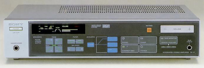 1983 Sony Integrated Stereo Amplifier TA-V7