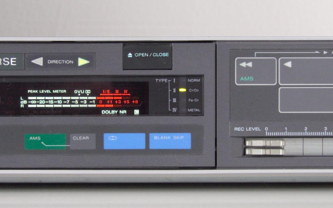 1983 Sony Stereo Cassette Deck TC-V7