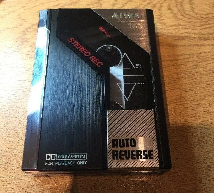 1984 Aiwa Stereo Cassette Recorder HS-F07