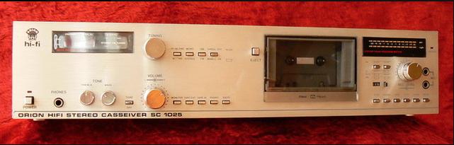1984 Orion Hifi Stereo Casseiver SC 1025