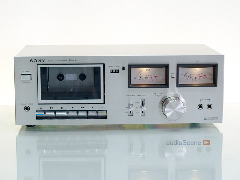 1978 Sony Stereo Cassette Deck TC-K1A