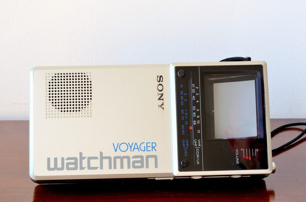 1985 Sony Watchman Voyager FD-20AEB