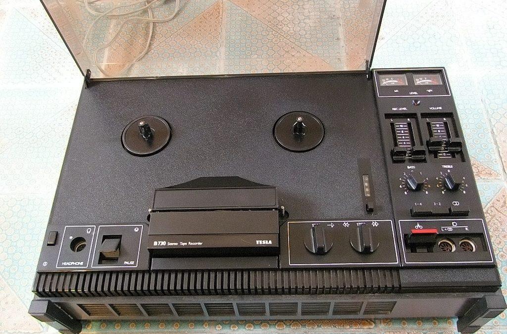 1985 Tesla Stereo Tape Recorder B 730-ANP 275